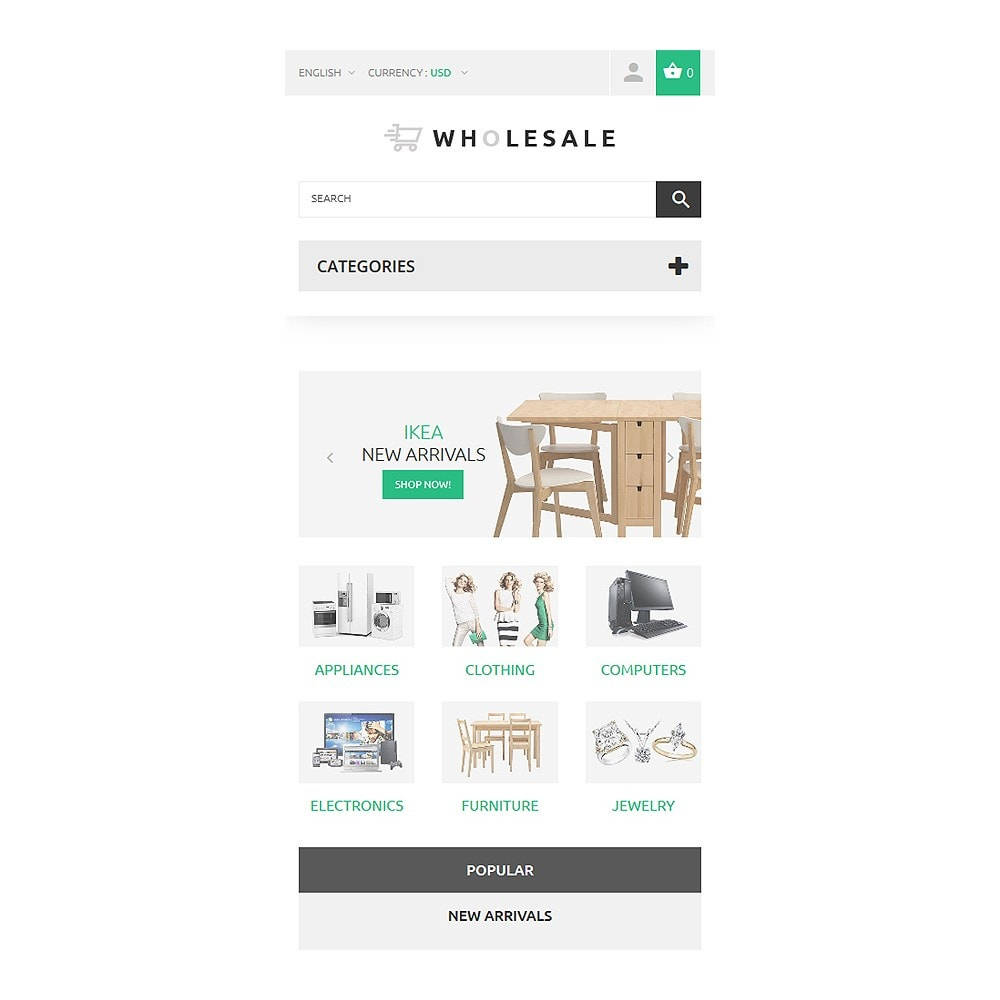 theme - Maison & Jardin - Wholesale - 8