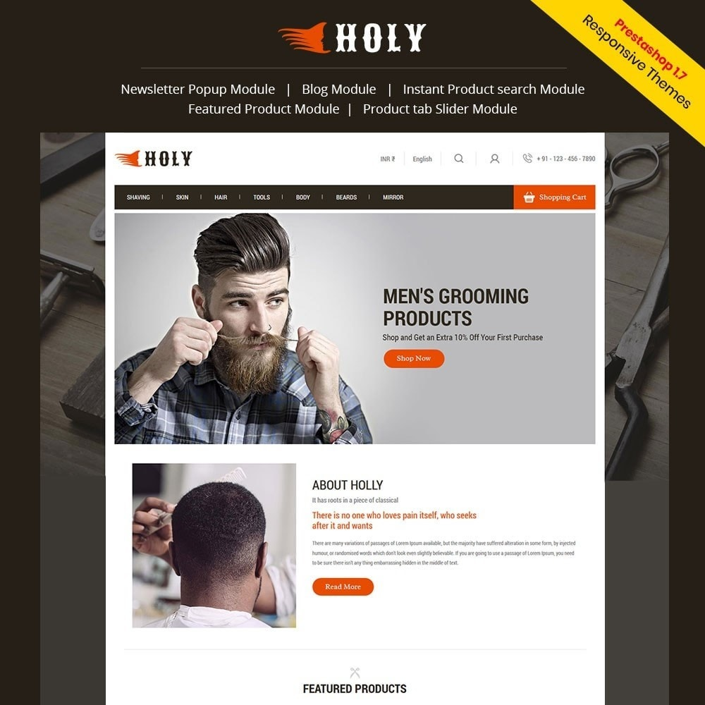 theme - Moda & Calzature - Holly - Fashion Store - 1