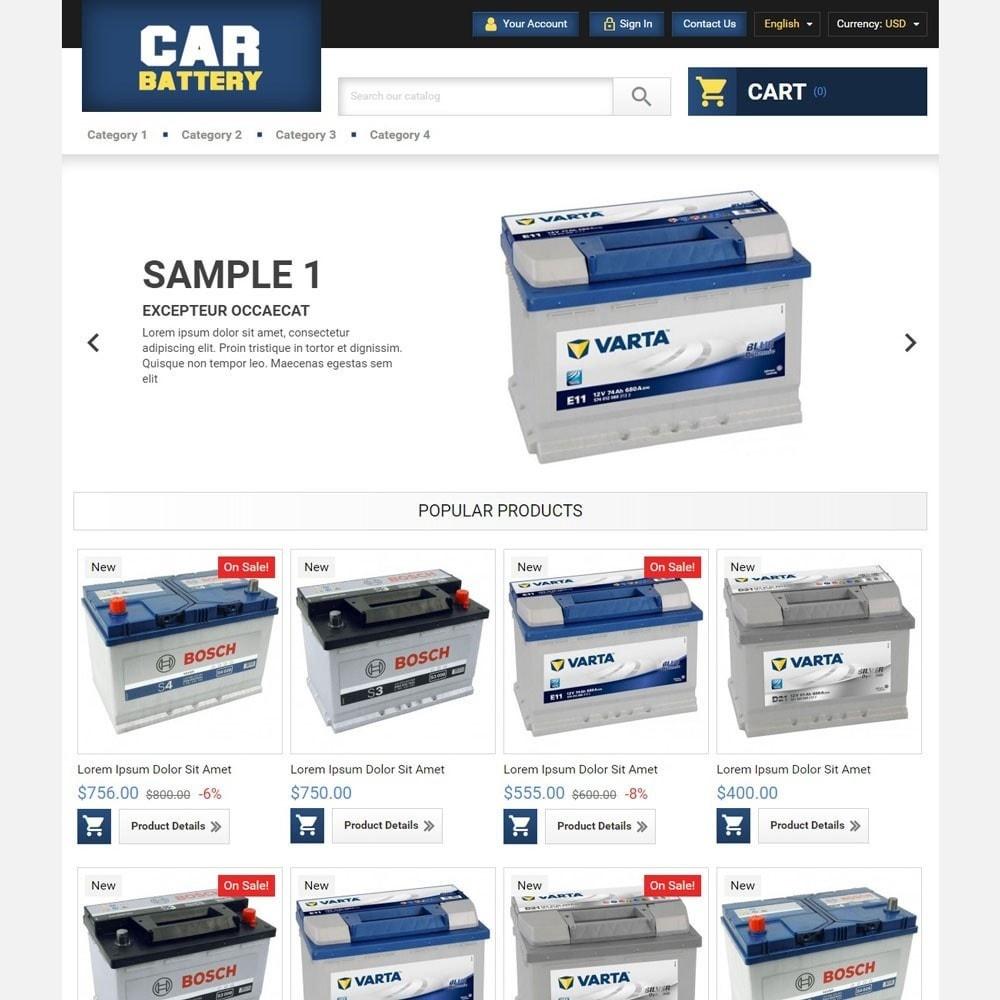 theme - Auto & Moto - CarBattery - 1