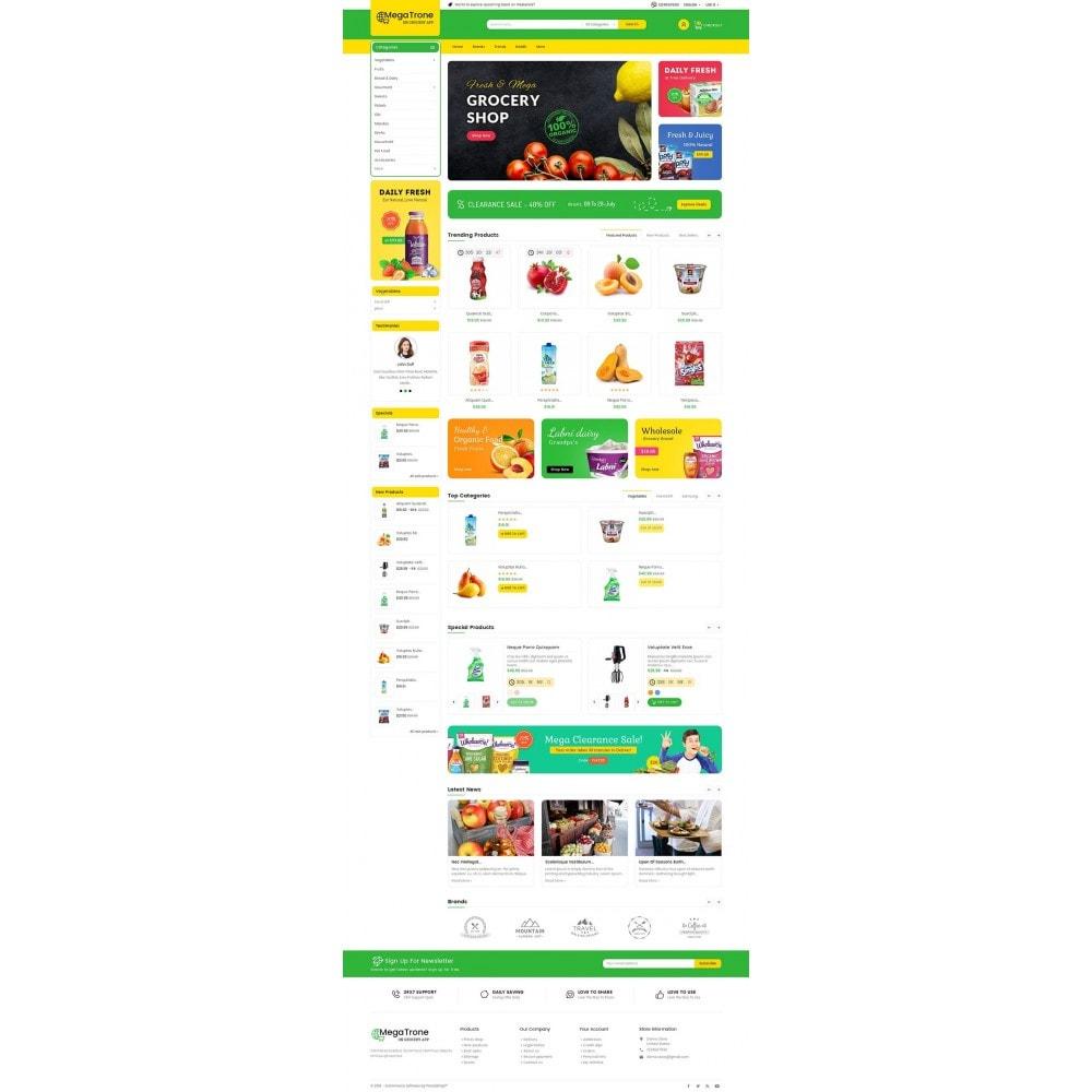 theme - Alimentation & Restauration - Mega Trone Grocery - 3