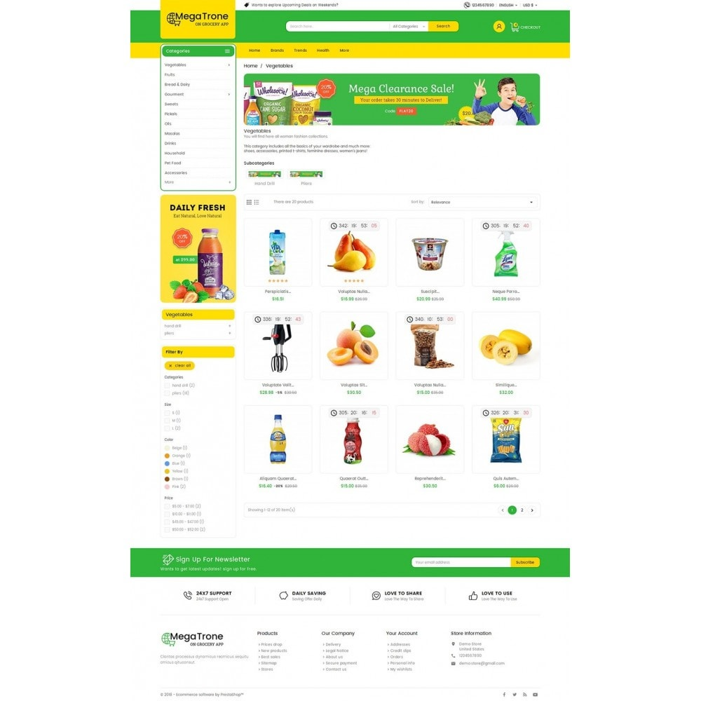 theme - Lebensmittel & Restaurants - Mega Trone Grocery - 4