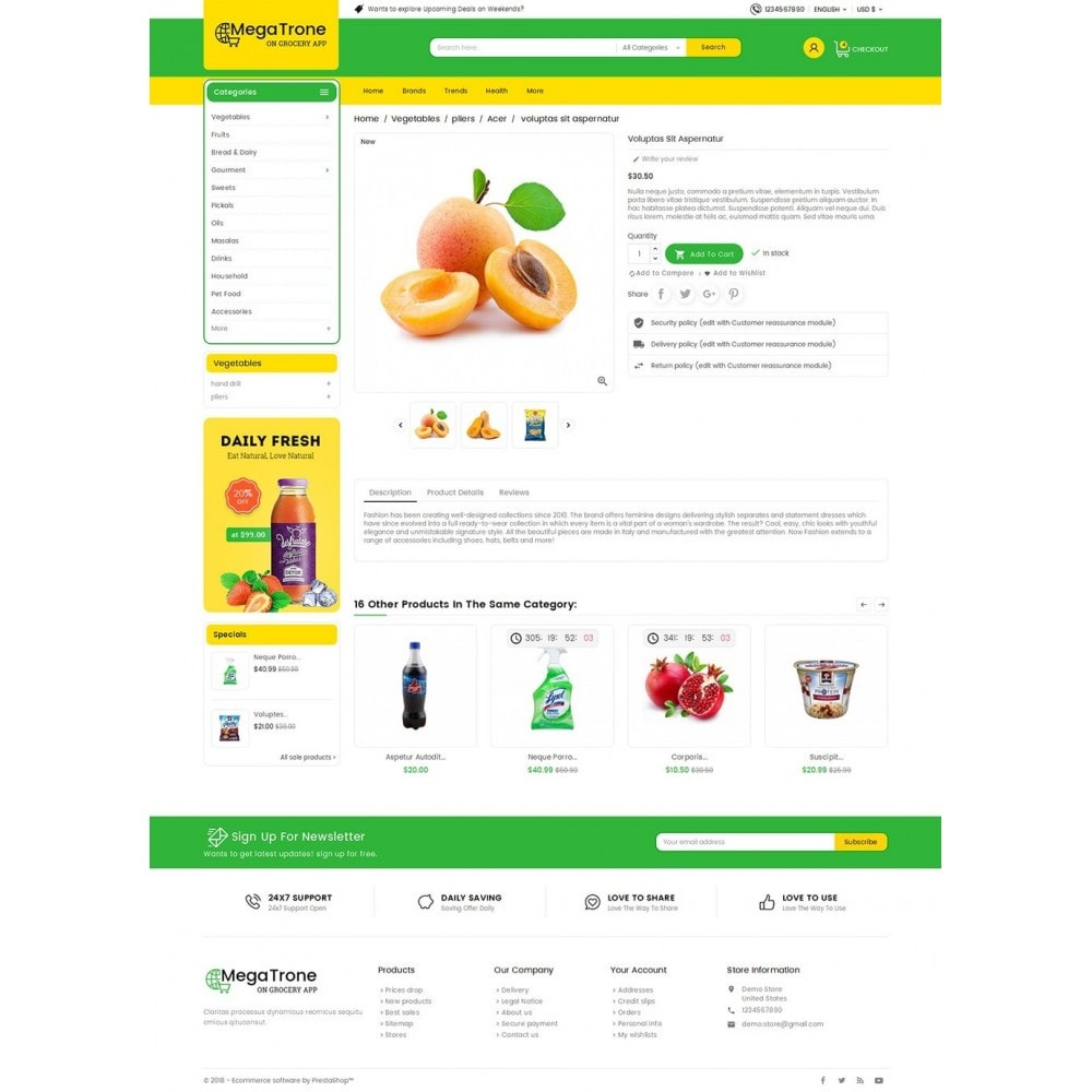theme - Lebensmittel & Restaurants - Mega Trone Grocery - 6