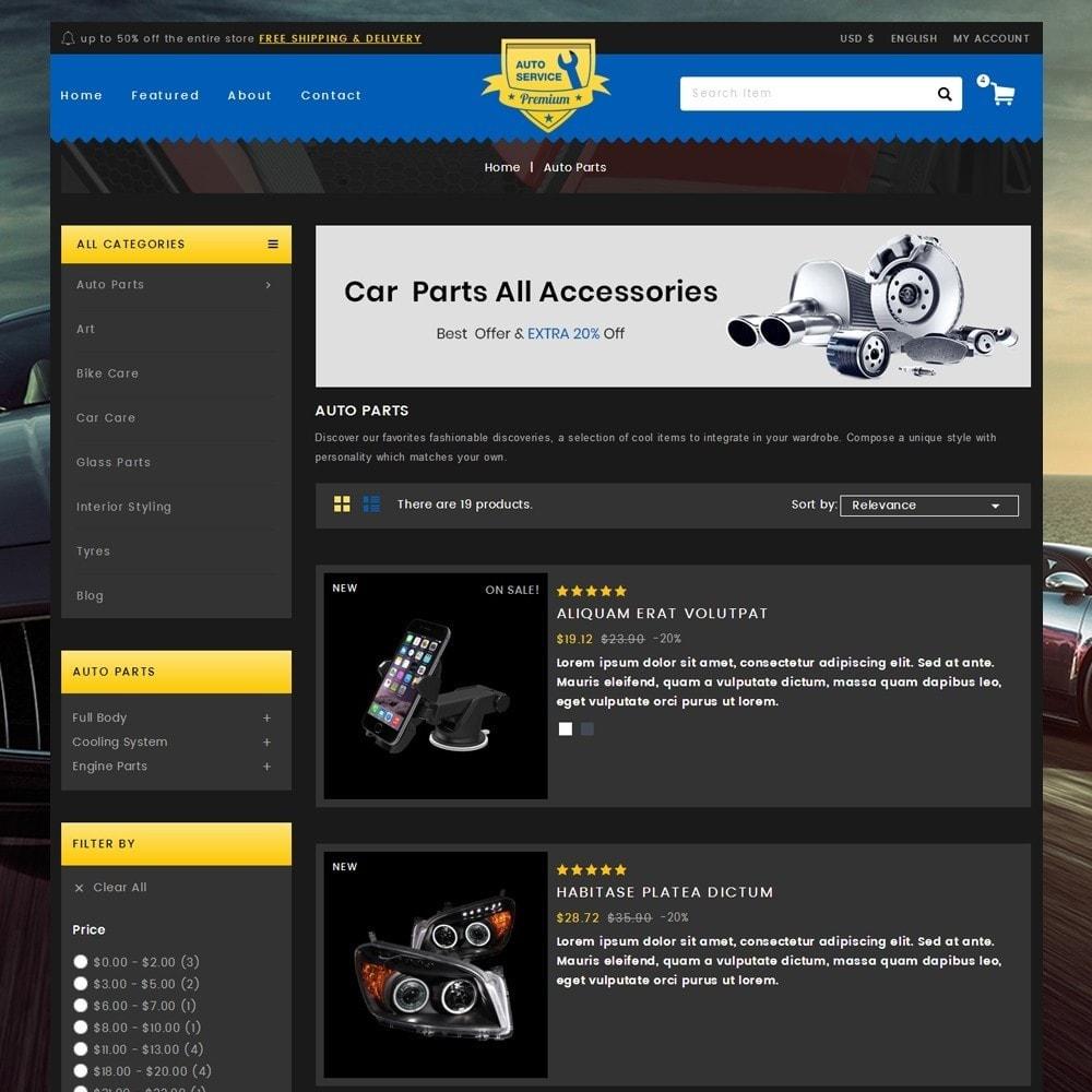 theme - Auto & Moto - Auto Service - Premium Store - 4