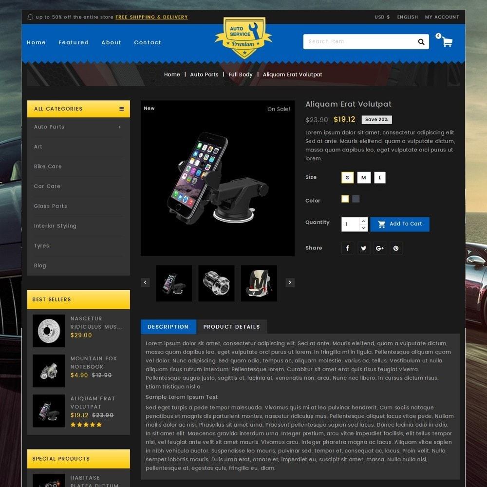 theme - Carros & Motos - Auto Service - Premium Store - 5