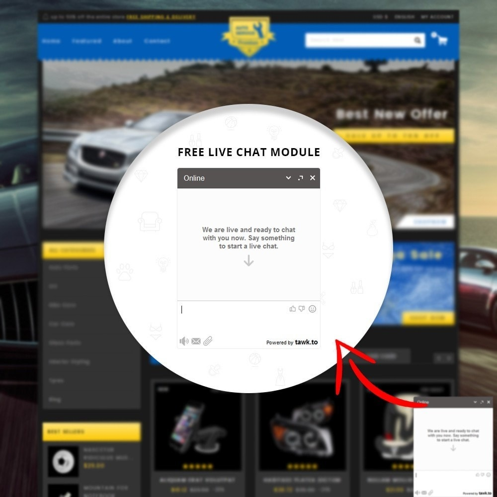 theme - Carros & Motos - Auto Service - Premium Store - 8