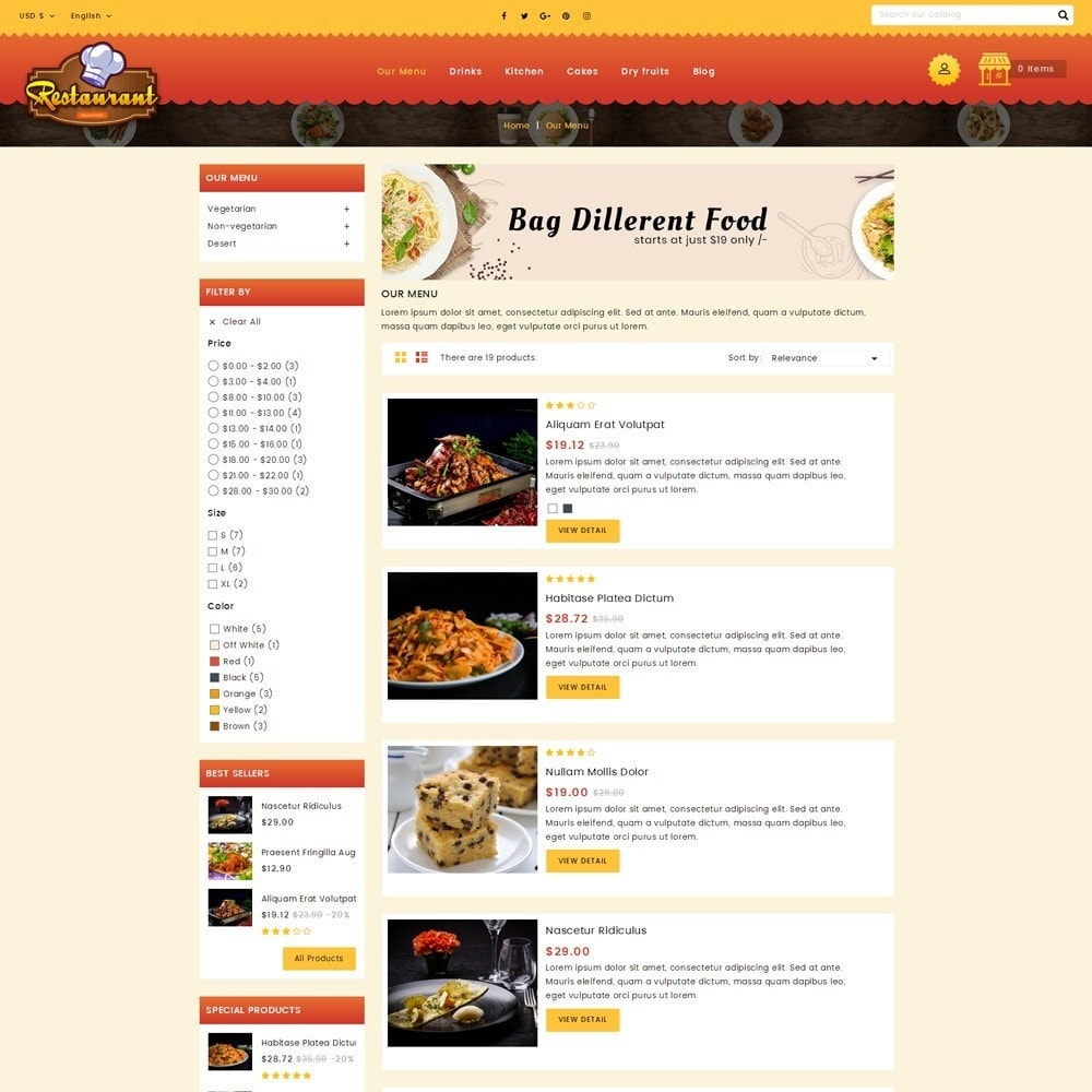 theme - Alimentation & Restauration - Restaurant Food Store - 4