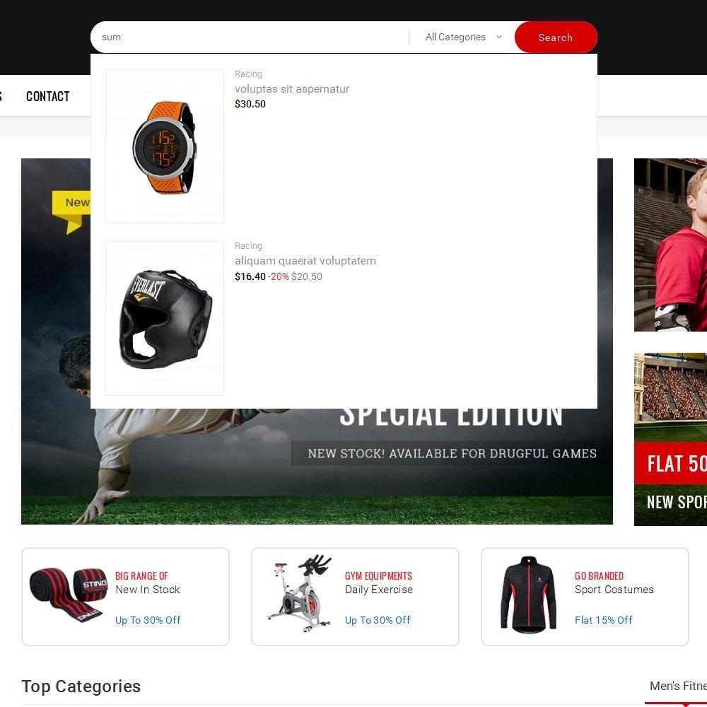 theme - Deportes, Actividades y Viajes - Mega Shoppe Sports - 11
