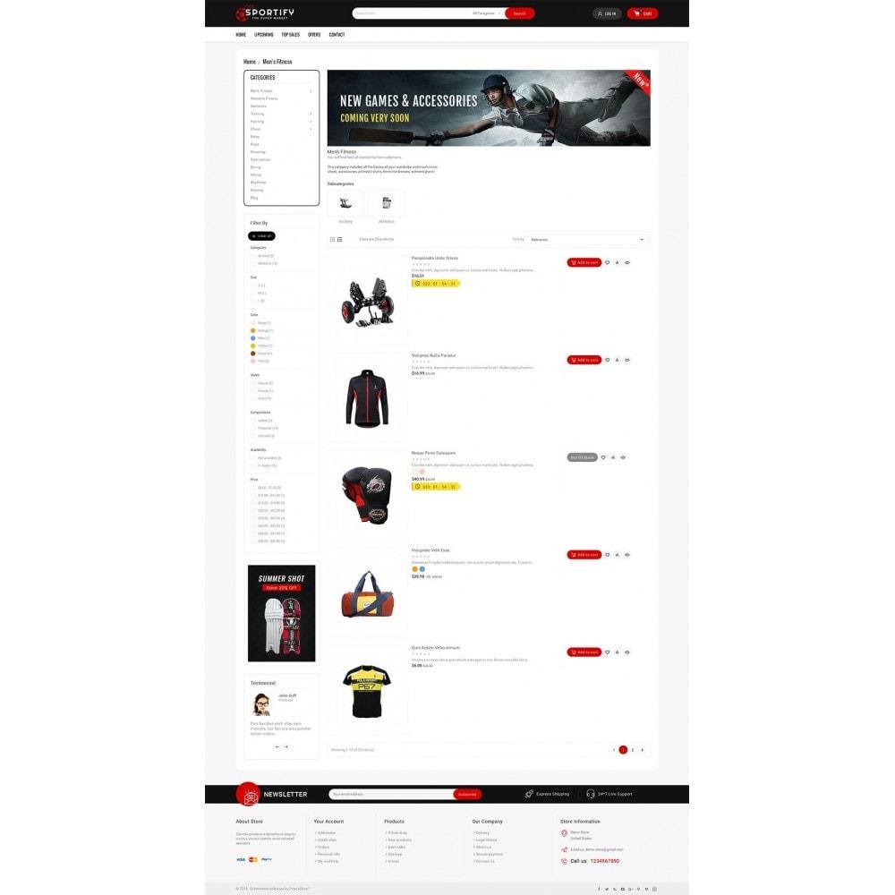theme - Sport, Attività & Viaggi - Mega Shoppe Sports - 5