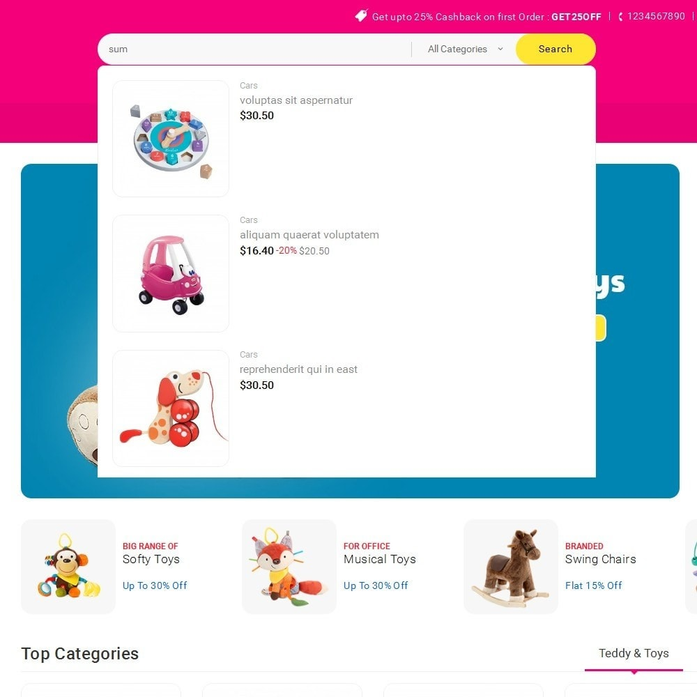 theme - Niños y Juguetes - Mega Shoppe Kid Toys - 11