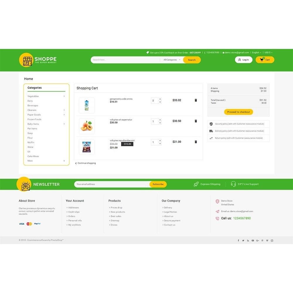 theme - Lebensmittel & Restaurants - Mega Shoppe Grocery - 7