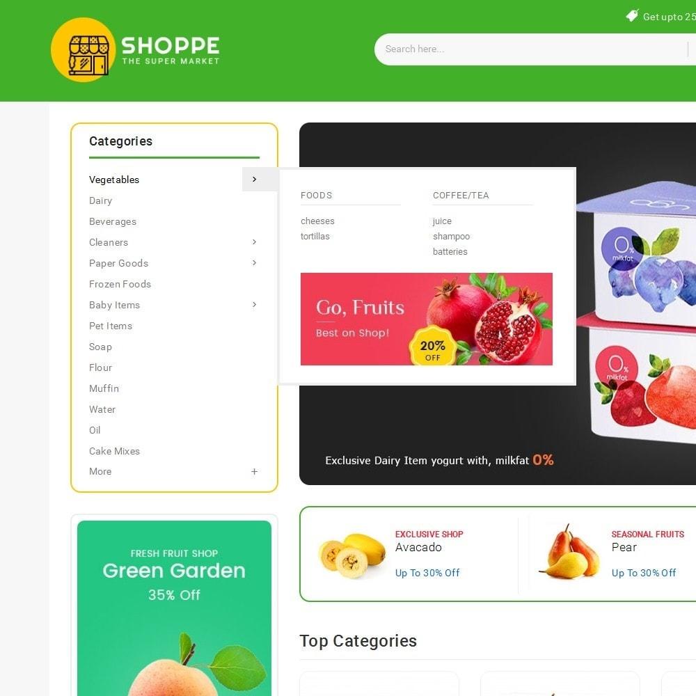 theme - Lebensmittel & Restaurants - Mega Shoppe Grocery - 10