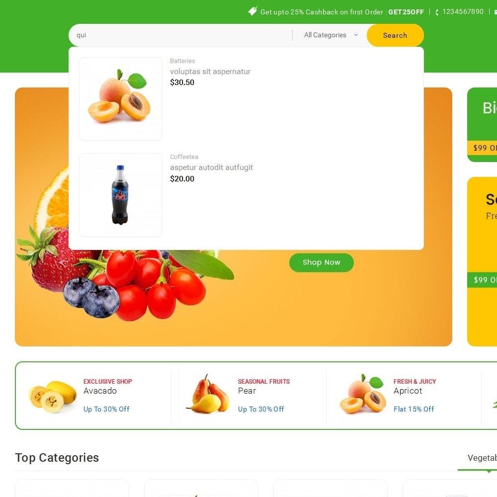 theme - Lebensmittel & Restaurants - Mega Shoppe Grocery - 11