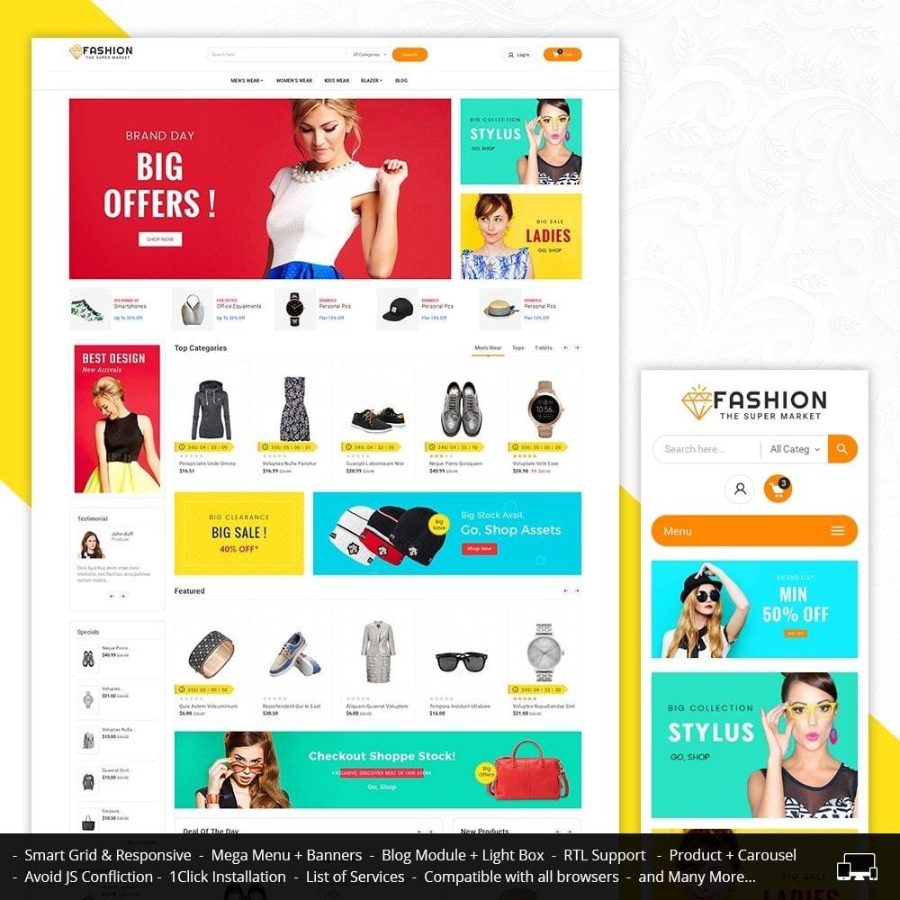 theme - Moda & Calzature - Mega Shoppe Fashion - 2
