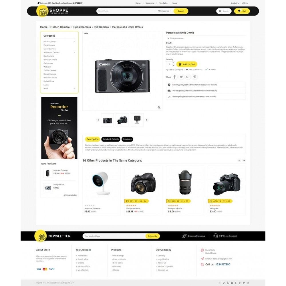 theme - Elettronica & High Tech - Mega Shoppe Camera - 6