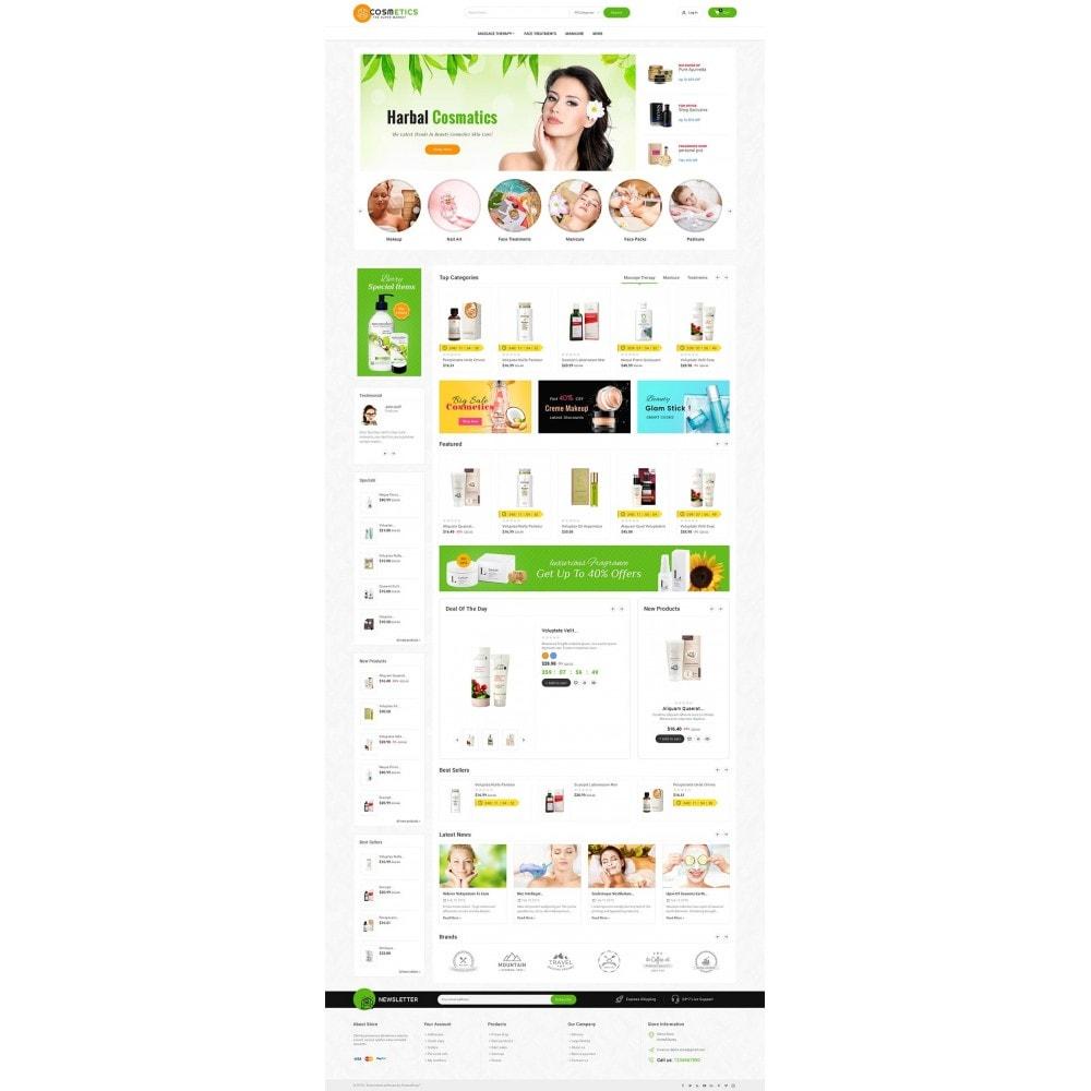 theme - Santé & Beauté - Mega Shoppe Bio Cosmetics - 3