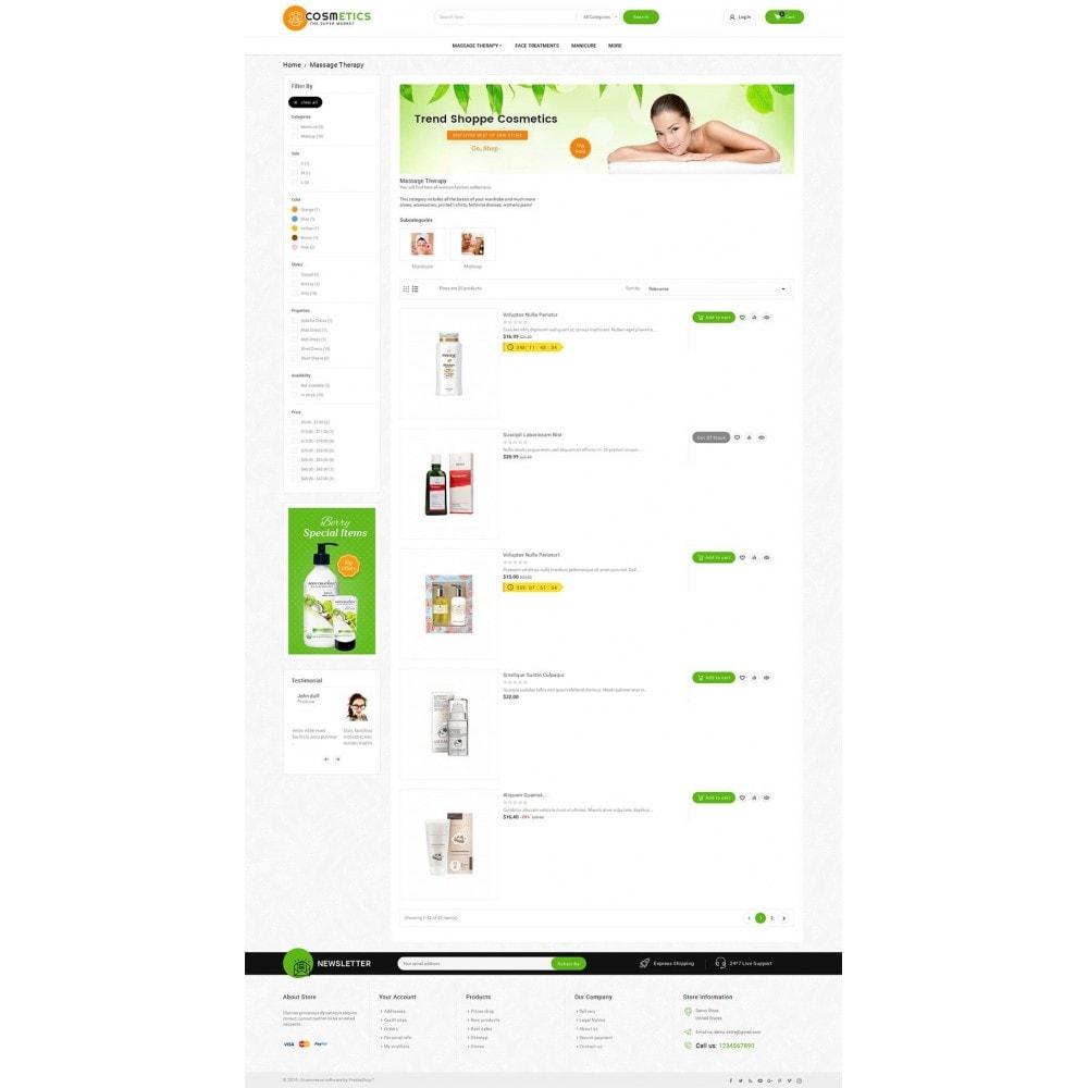 theme - Salud y Belleza - Mega Shoppe Bio Cosmetics - 5