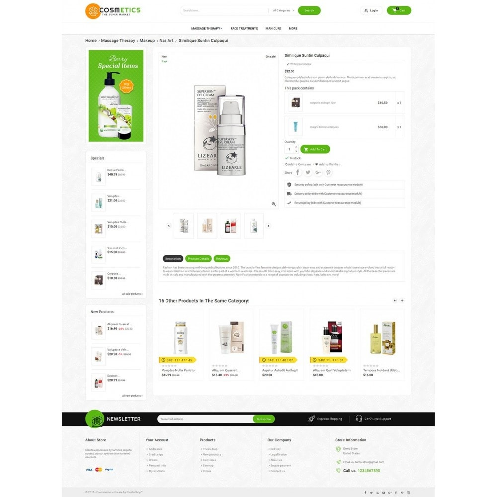 theme - Gesundheit & Schönheit - Mega Shoppe Bio Cosmetics - 6