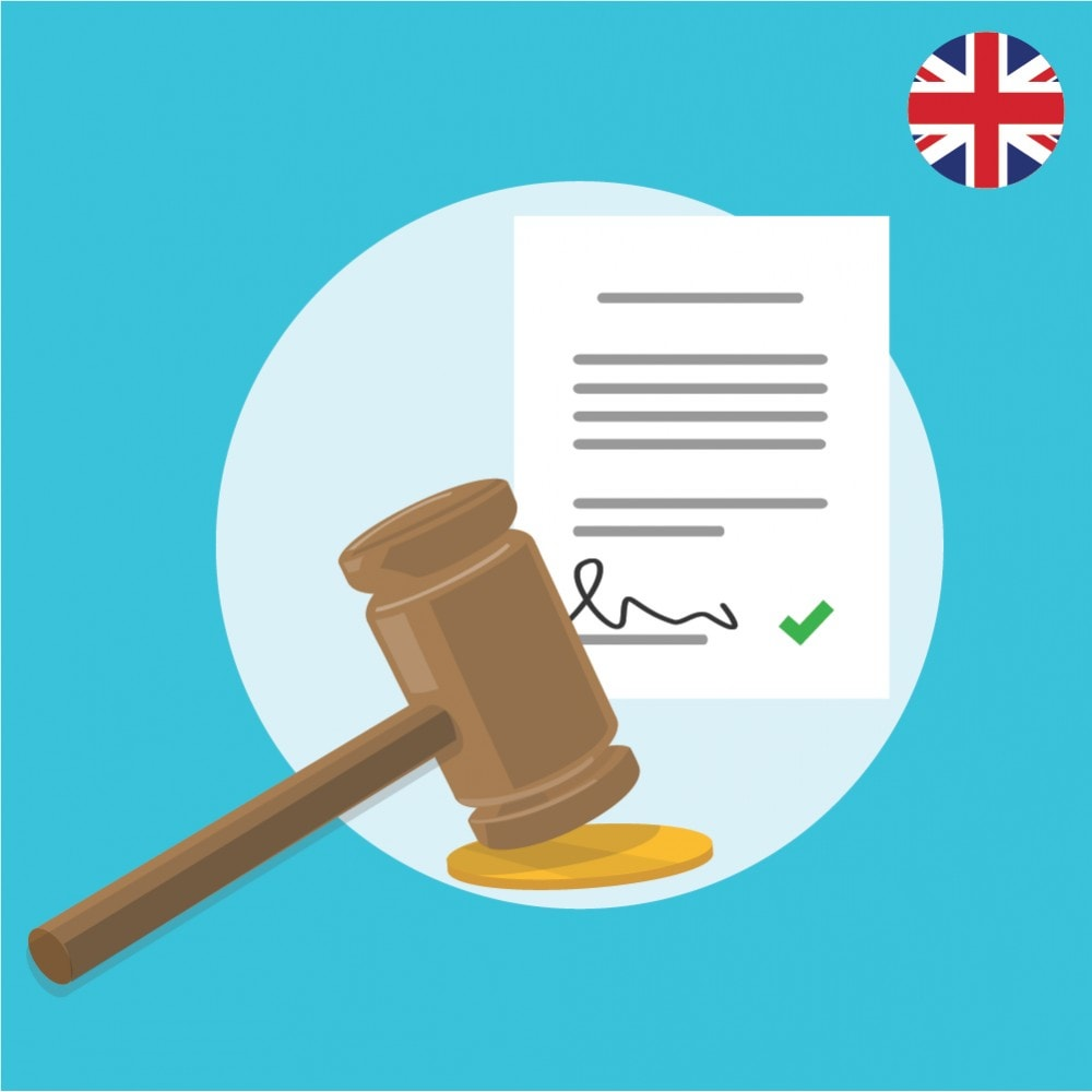 module - Legal - Custom Terms and Conditions for United Kingdom- GDPR Compliant Module - 1