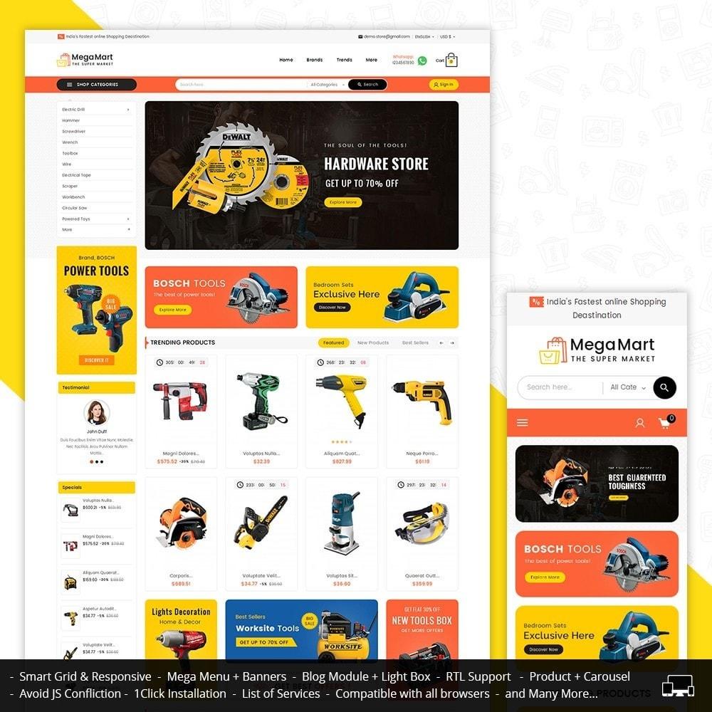 theme - Electrónica e High Tech - Mega Mart Tools Equipment - 2