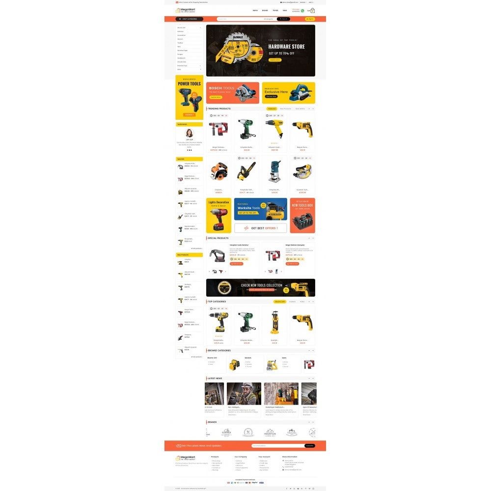 theme - Electrónica e High Tech - Mega Mart Tools Equipment - 3