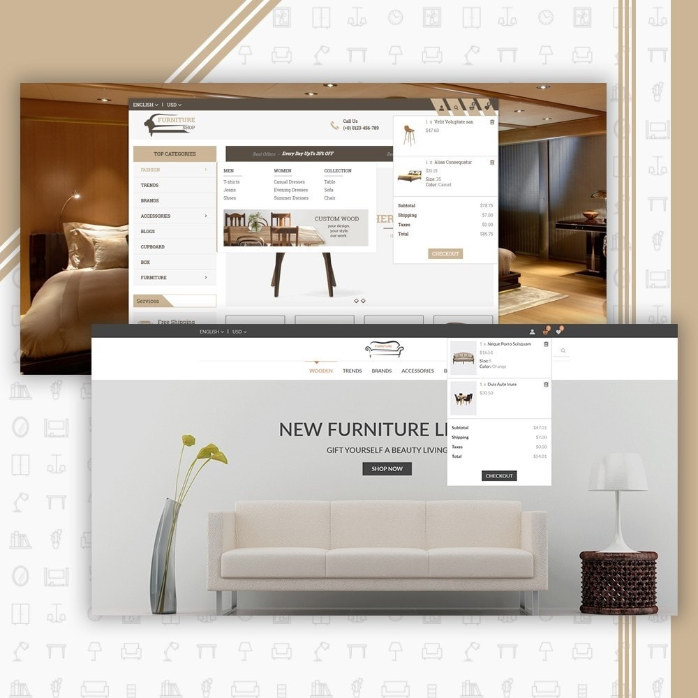 theme - Дом и сад - Mega Furniture Store - 6