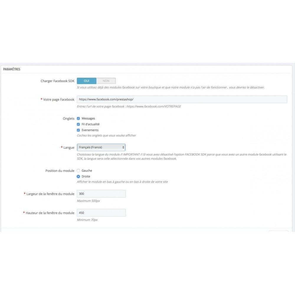 module - Service Client - Social Messenger Contact Page - 3