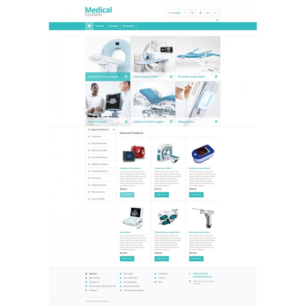 theme - Salud y Belleza - Medical Equipment Store - 2