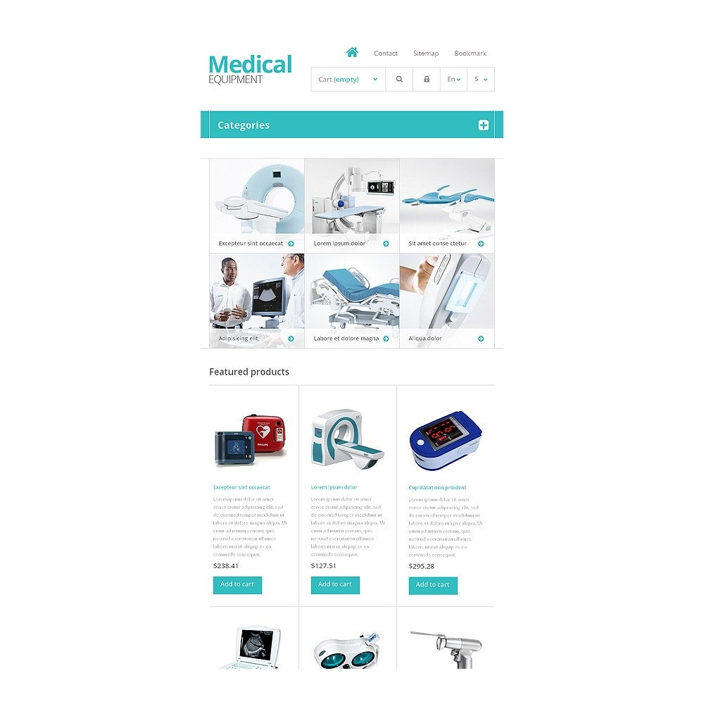 theme - Salud y Belleza - Medical Equipment Store - 7