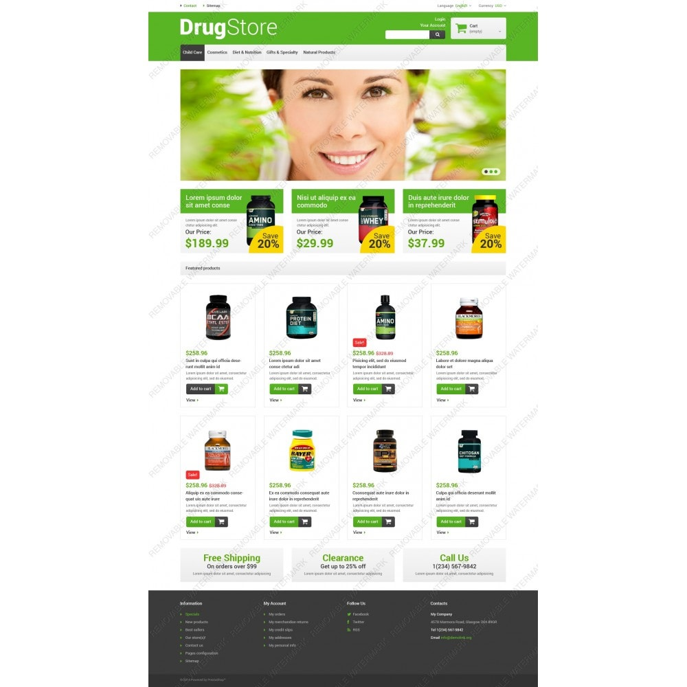 theme - Salud y Belleza - Reliable Drugstore - 3