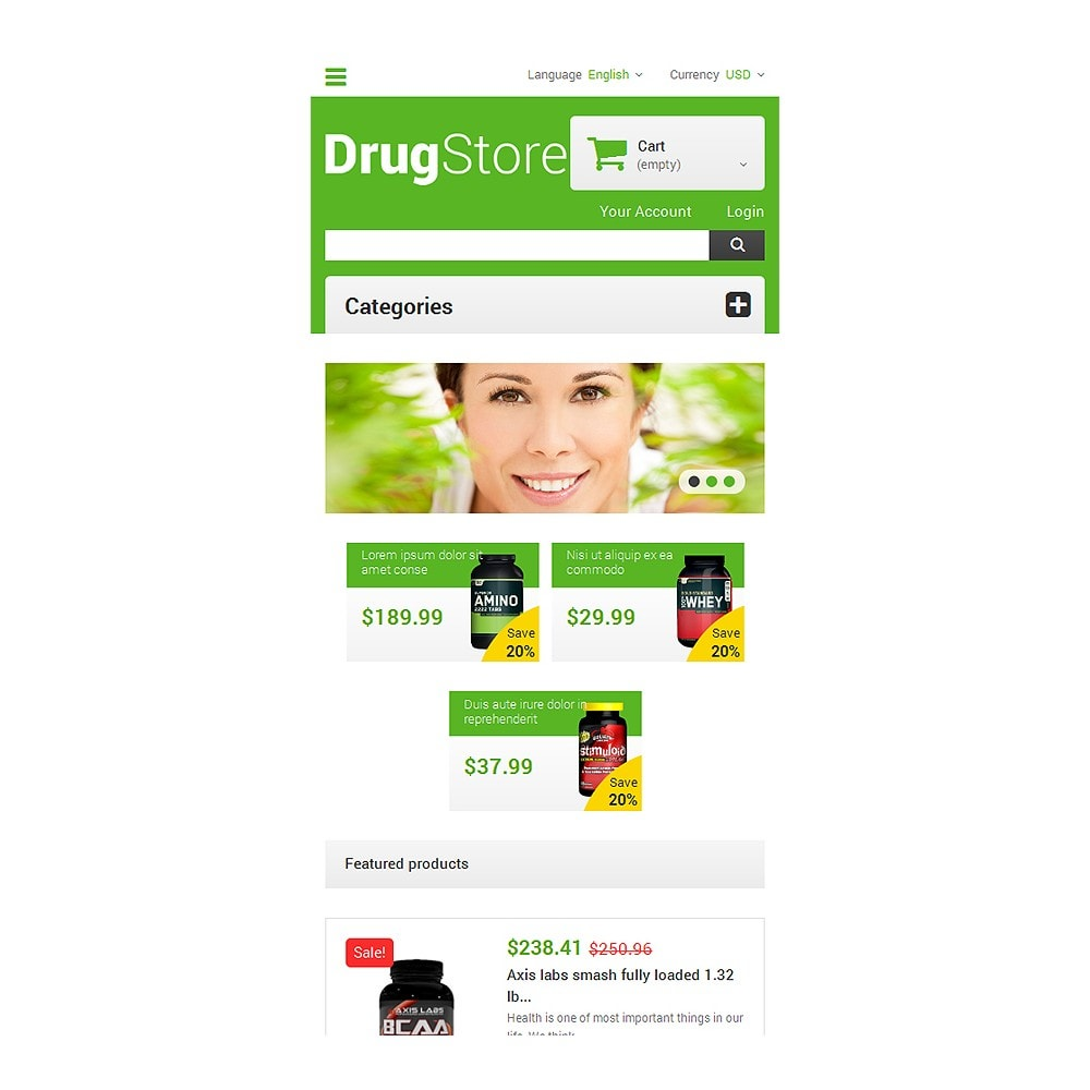 theme - Salud y Belleza - Reliable Drugstore - 8