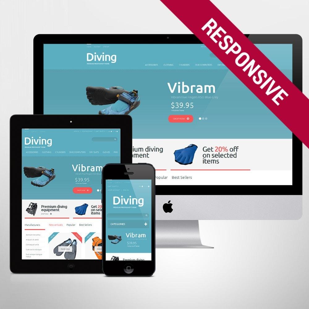 theme - Спорт и Путешествия - Diving Shop - 1