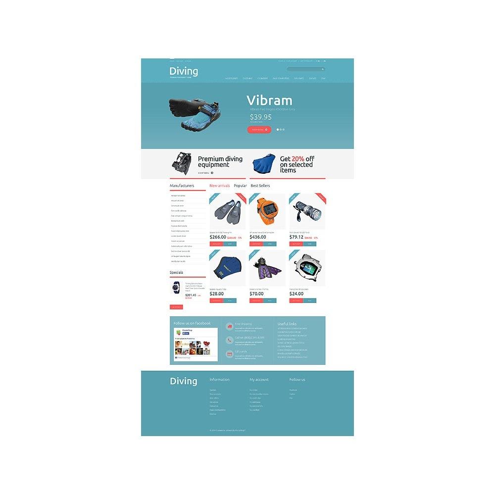 theme - Спорт и Путешествия - Diving Shop - 10