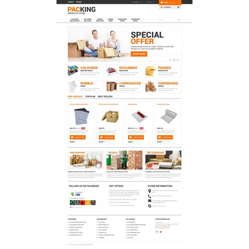 theme - Dom & Ogród - Excellent Packing Services - 4