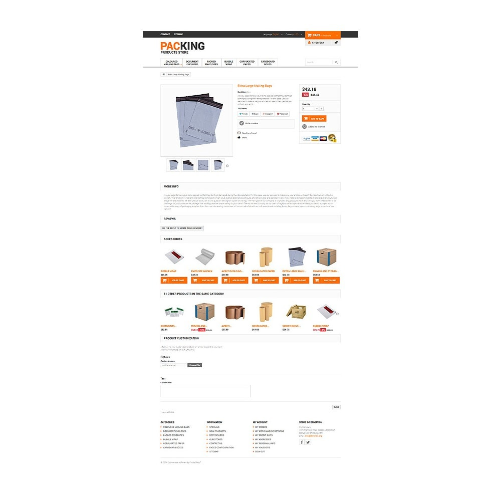 theme - Dom & Ogród - Excellent Packing Services - 6