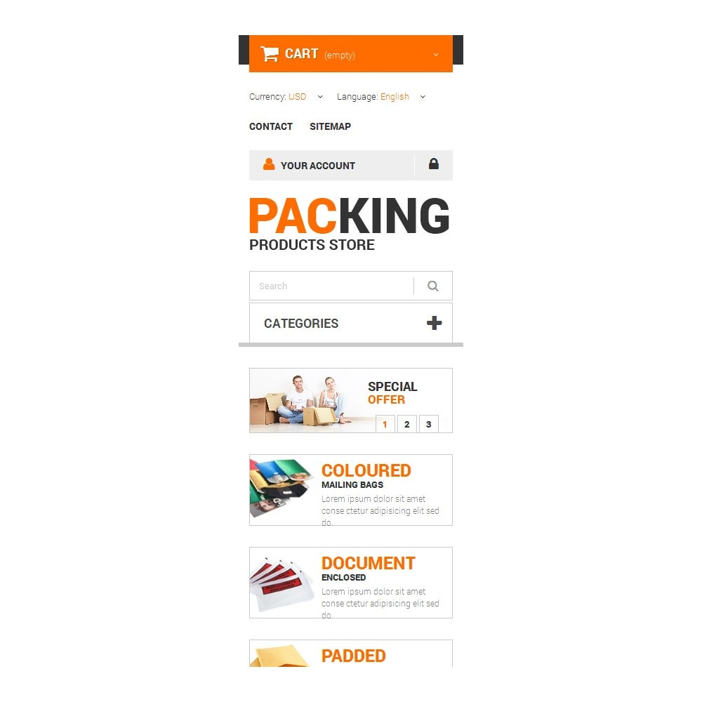 theme - Дом и сад - Excellent Packing Services - 9