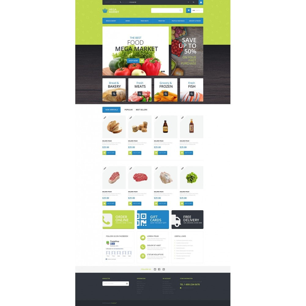 theme - Eten & Restaurant - Food Shop - 2
