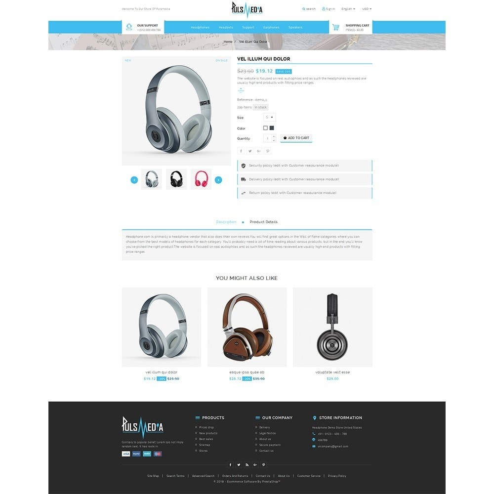 theme - Elettronica & High Tech - Puls Media Store - 5