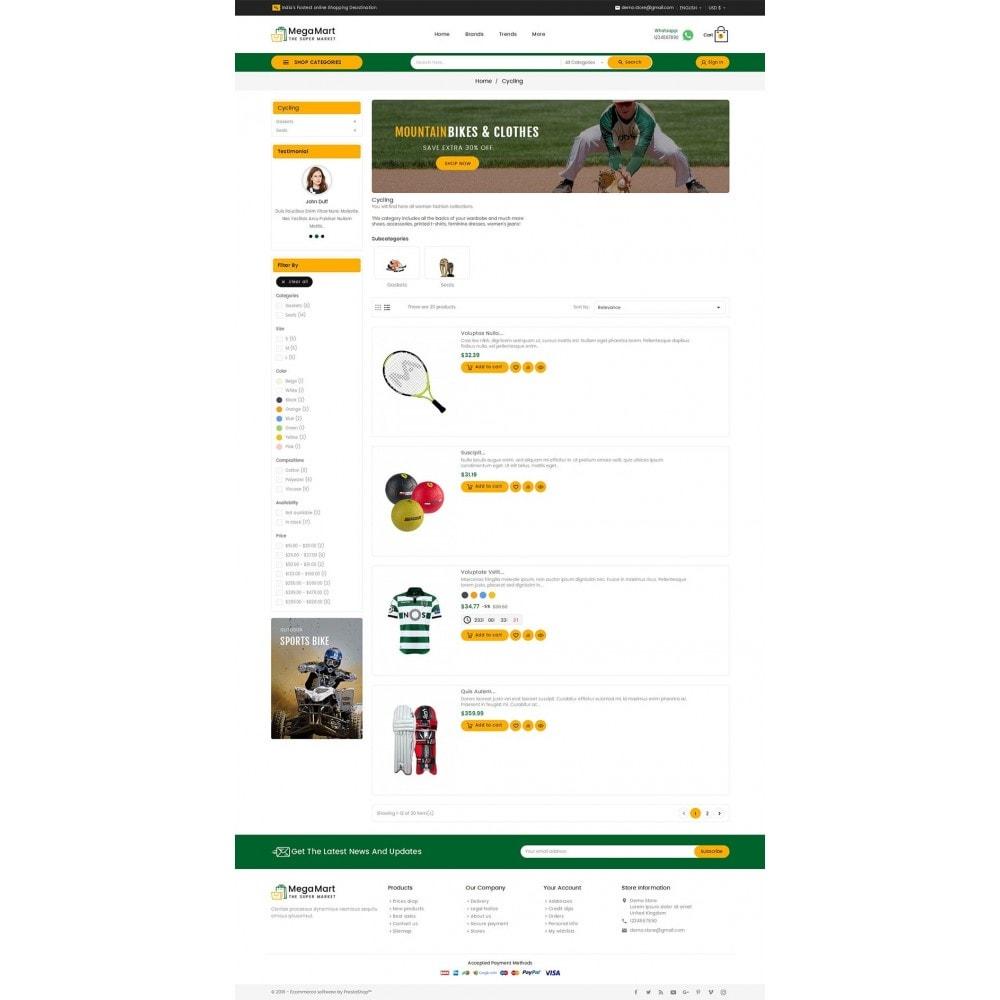 theme - Sport, Aktivitäten & Reise - Mega Mart Sports Club - 5