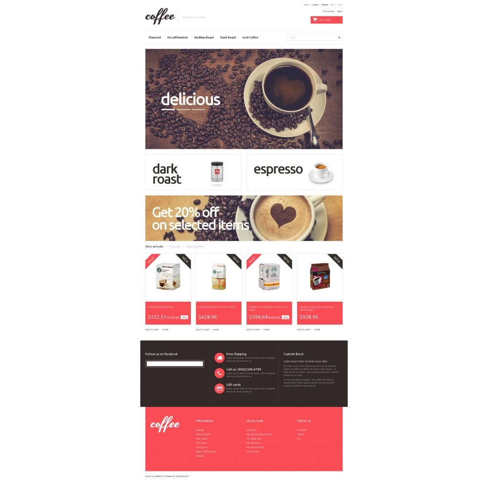 theme - Food & Restaurant - Coffee Maniacs - 4