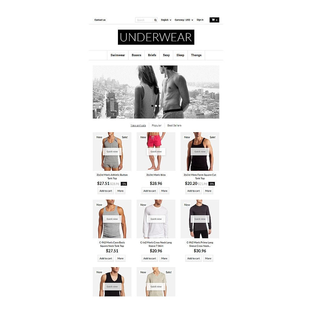 theme - Moda & Calzature - Underwear for Men - 7