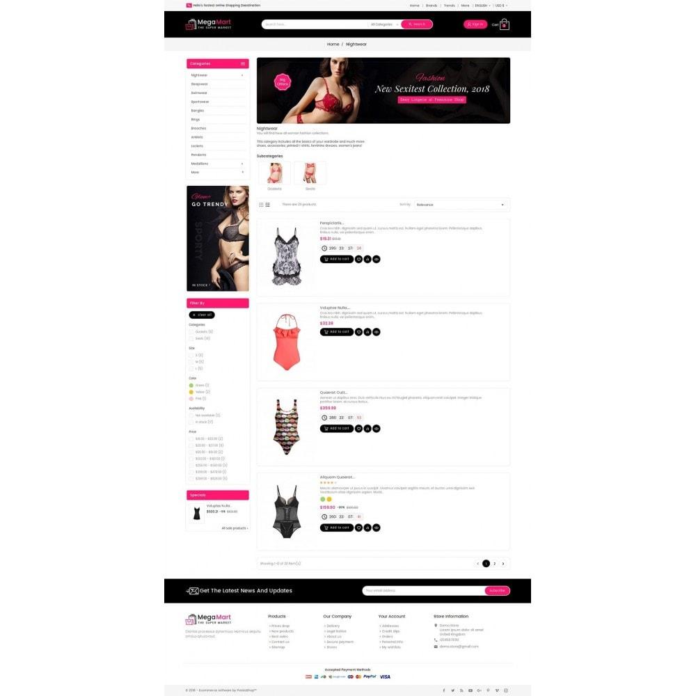 theme - Lingerie & Adulte - Mega Mart Sexy Lingerie - 5