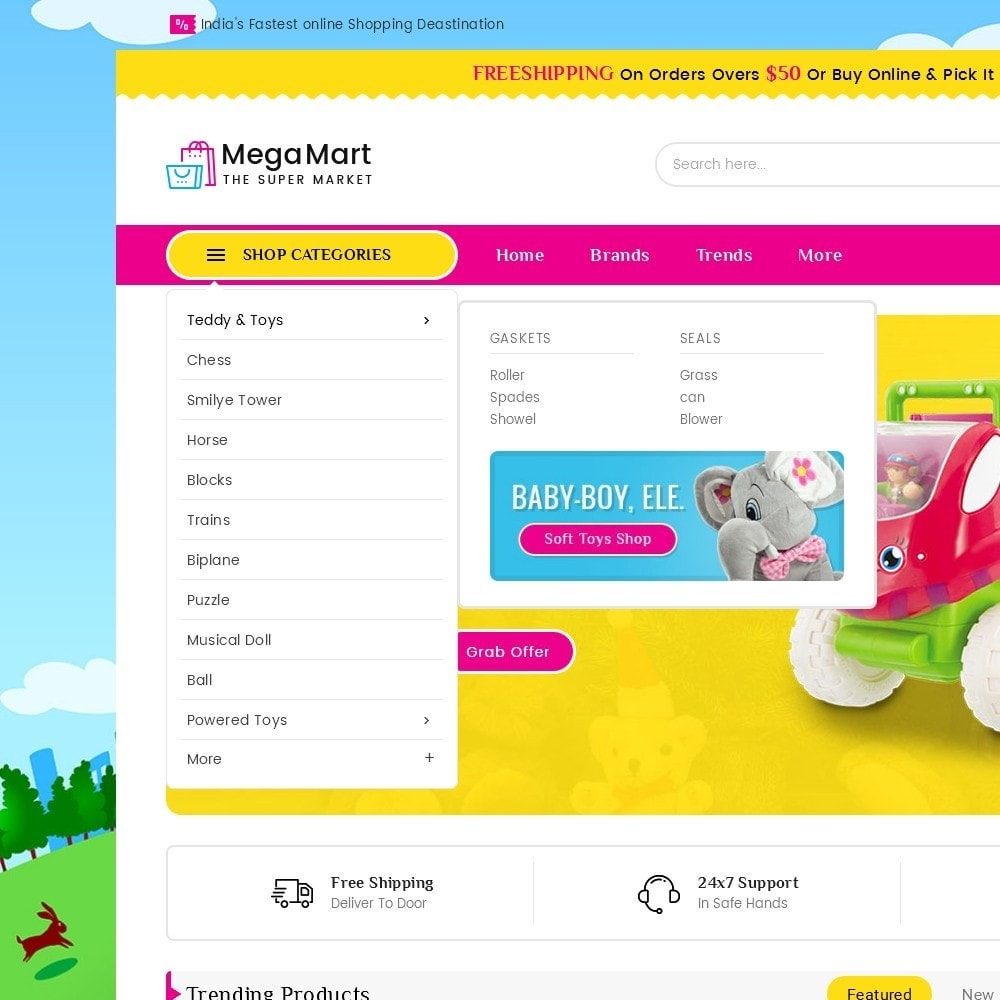 theme - Enfants & Jouets - Mega Mart Kids Toys - 10