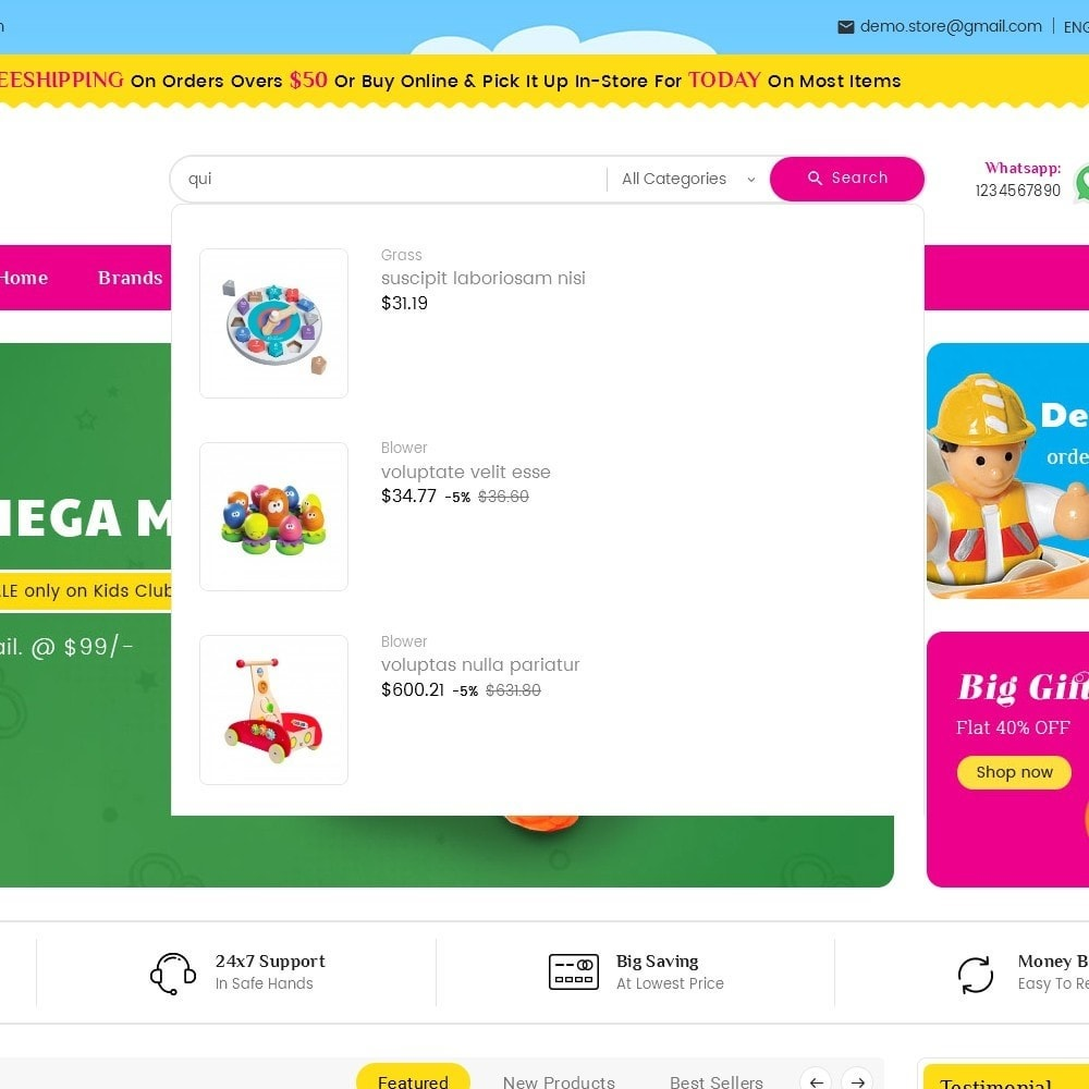 theme - Niños y Juguetes - Mega Mart Kids Toys - 11