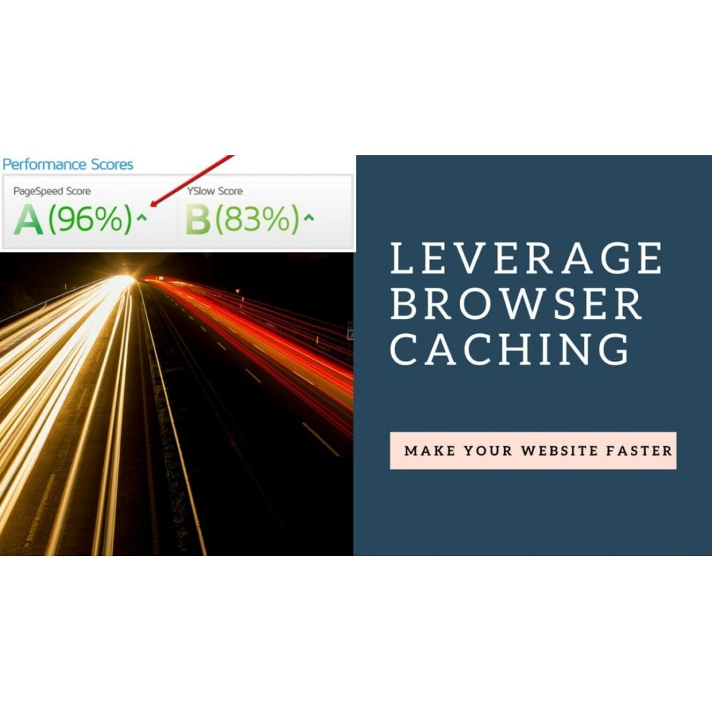 module - Desempenho do Site - Leverage Browser Caching - 1