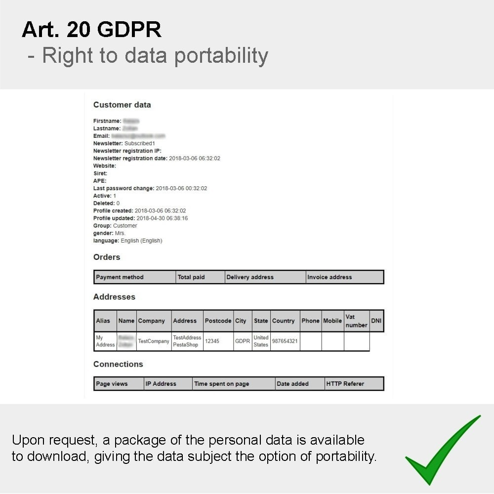 module - Администрация - GDPR Compliance Pro - 2020 Enhanced Edition - 17