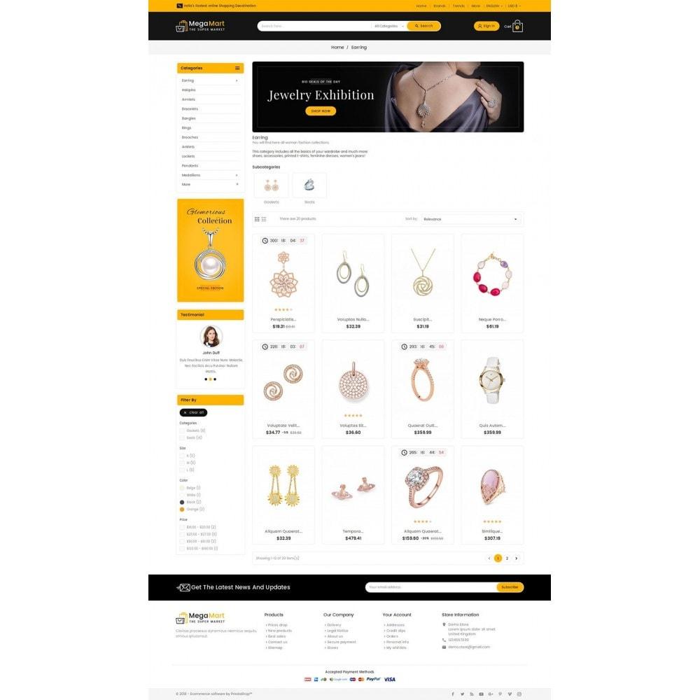 theme - Bijoux & Accessoires - Mega Mart Jewelry Imitation - 4