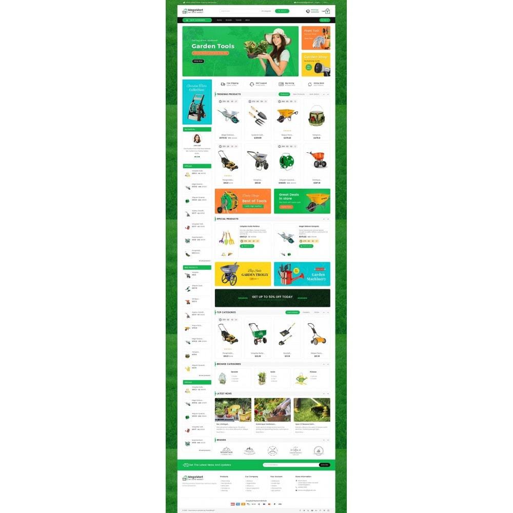 theme - Casa & Giardino - Mega Mart Gardening Tools - 3