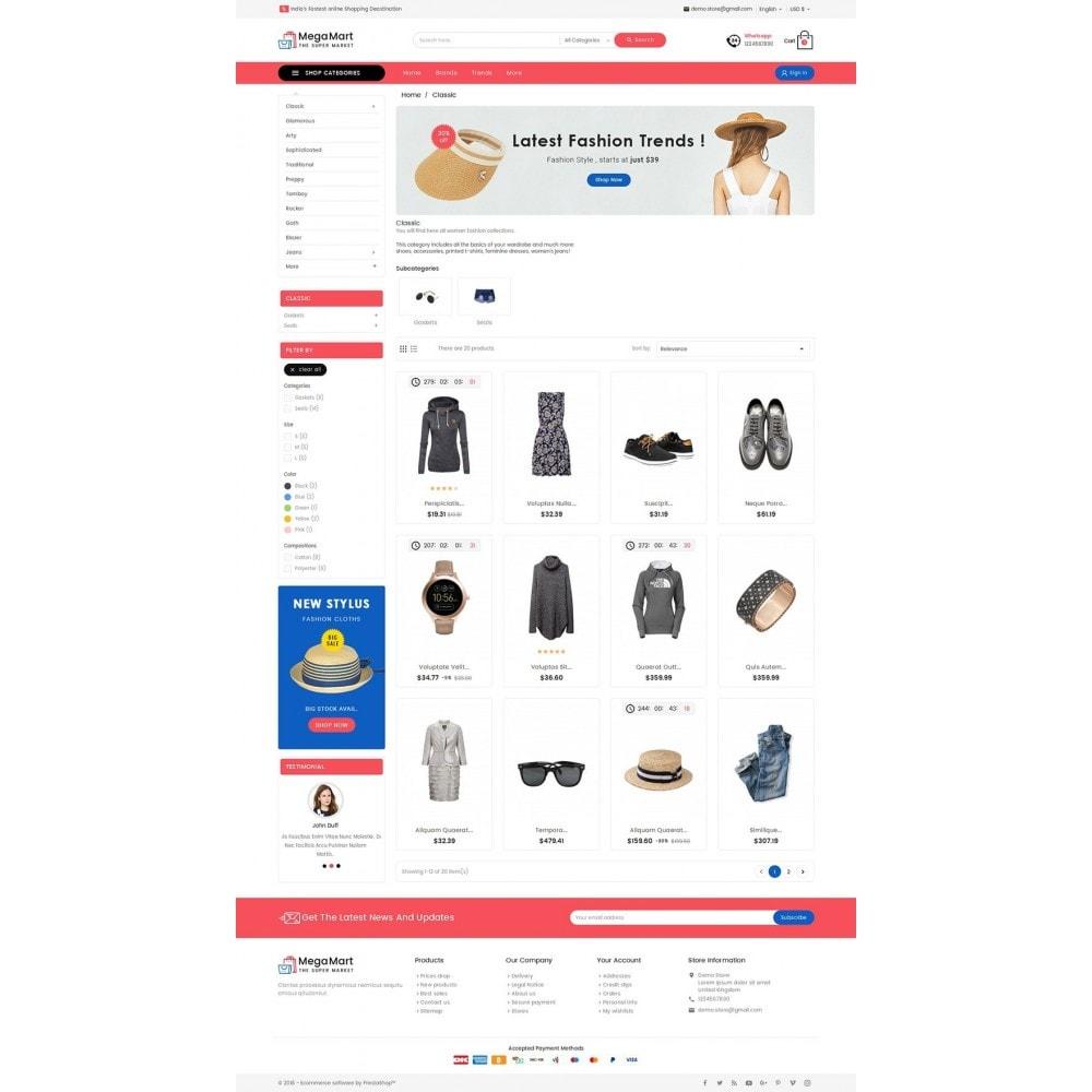 theme - Mode & Schuhe - Mega Mart Fashion Apparel - 4