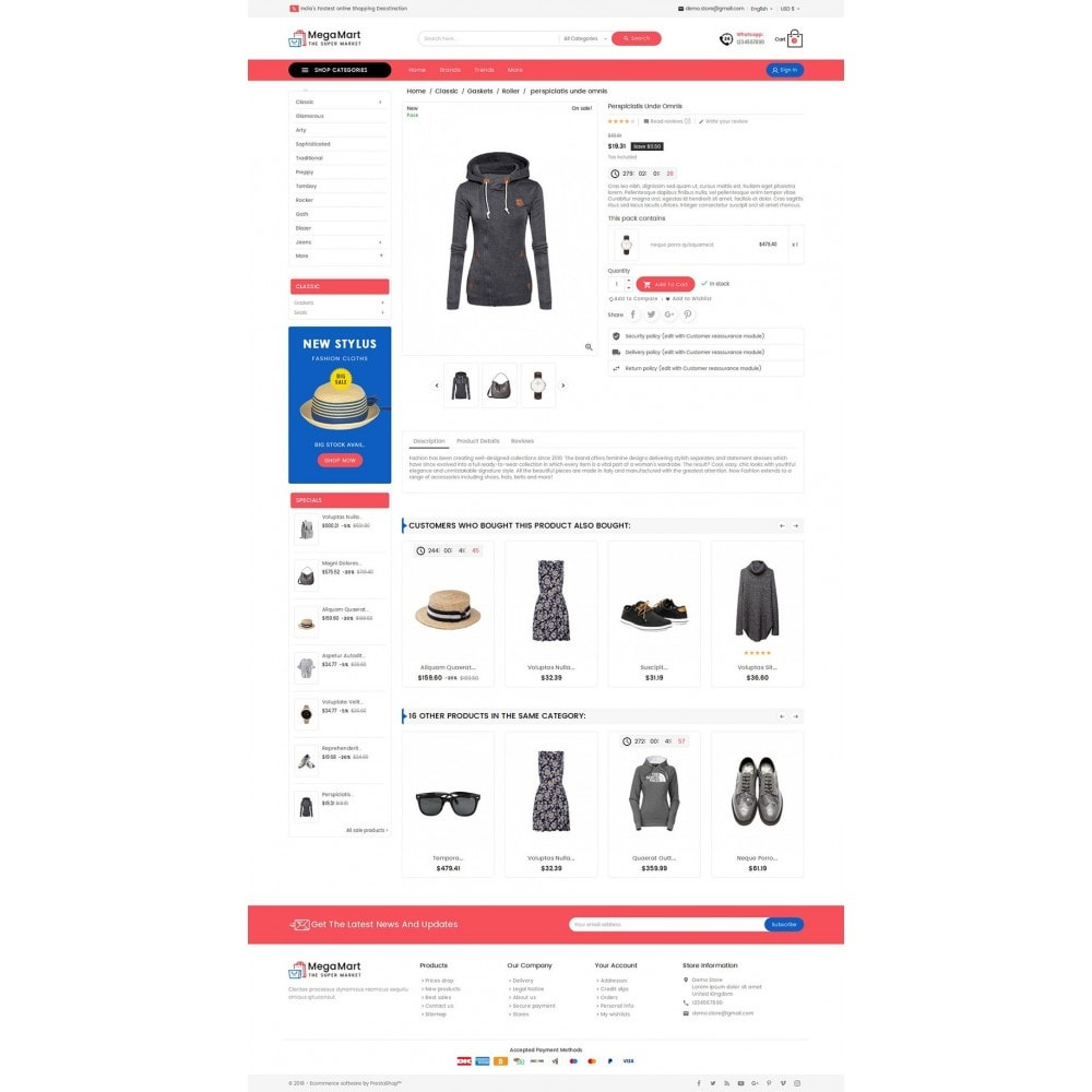 theme - Mode & Schuhe - Mega Mart Fashion Apparel - 6