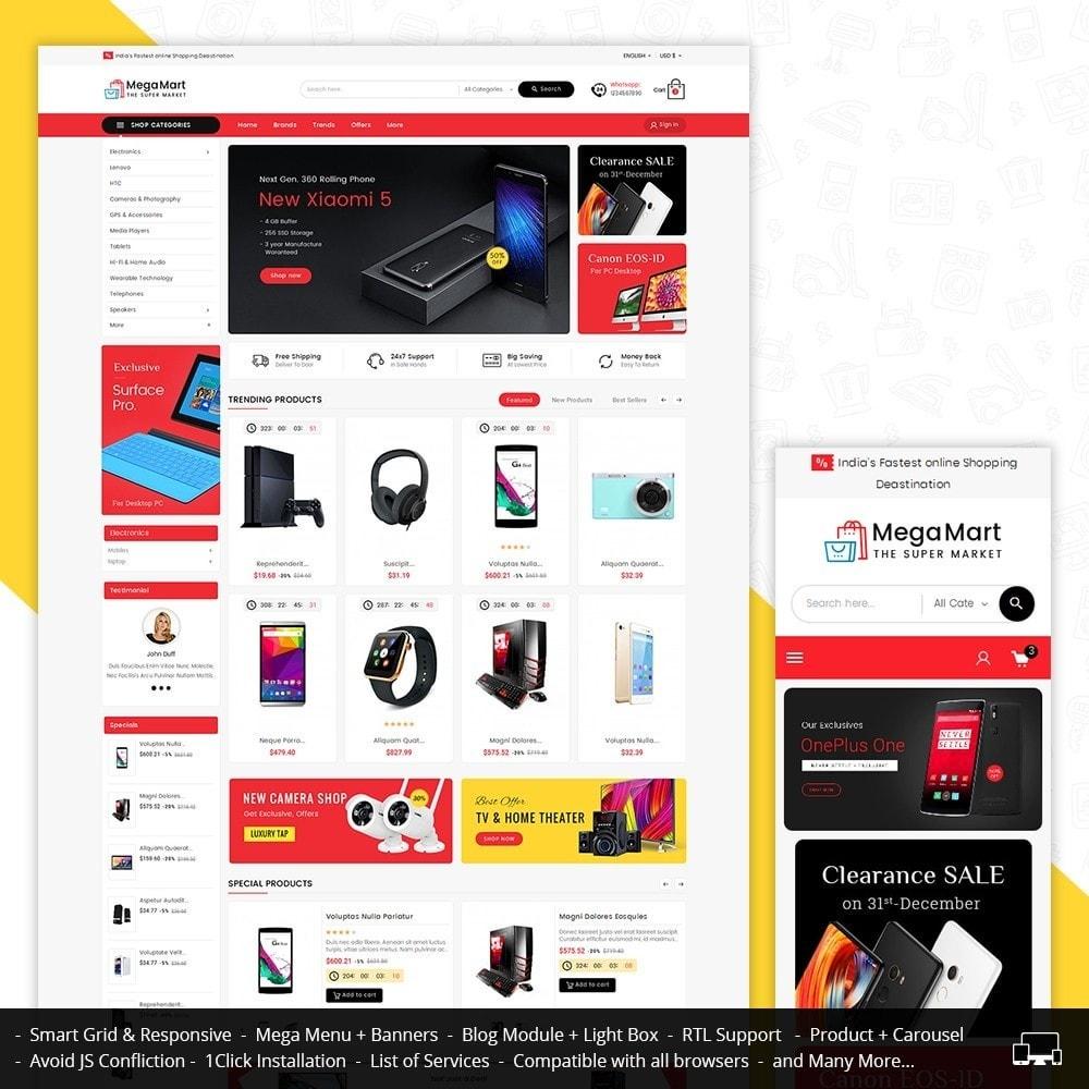 theme - Elettronica & High Tech - Mega Mart Electronics - 2